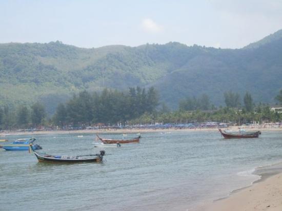 Kamala Beach : Phuket, Thailand--fishing in Traditioal Boats