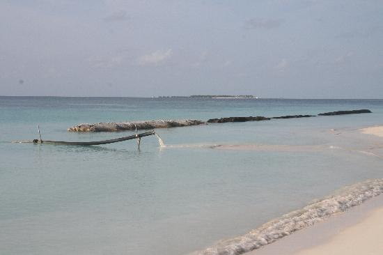 Kuramathi Island Resort: Kuramathi 'water feature'