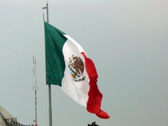 la bandera mexicana - Picture of Mexico City, Central Mexico and ...