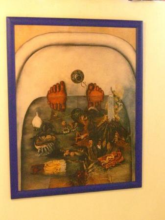 Mexico City, Mexico: A Painting By Frida Kahlo (hung In Her Bathroom)