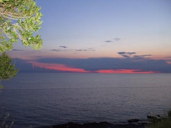 New Hotel Amarin: il meraviglioso tramonto dal camping..
