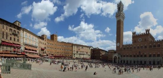 ปิเอซ่า เดล แคมโป: Piazza del Campo