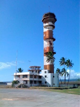 Pacific Aviation Museum Pearl Harbor: The old air control tower at Pearl Harbor, complete with authentic battle damage