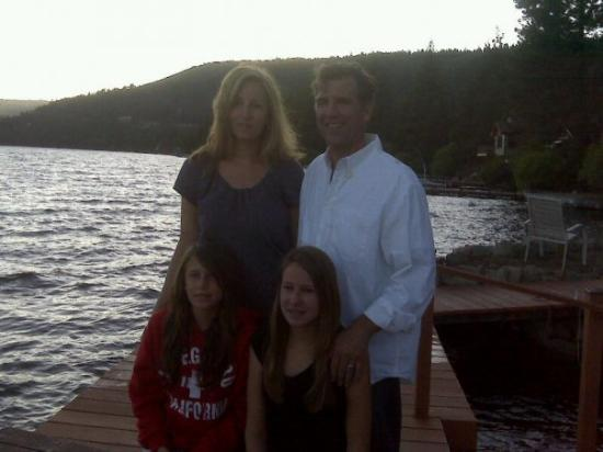 The Short family at Donner Lake
