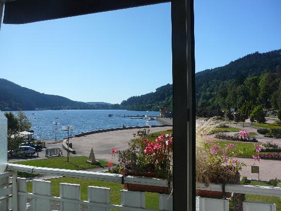 Hotel Beau Rivage: Vue de la chambre