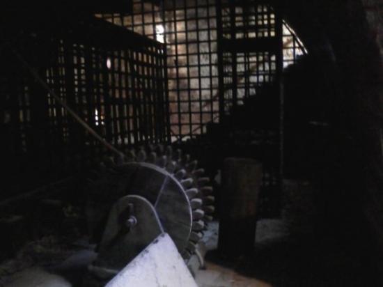 Reconstitution d'une salle de tortures chateau de Biron