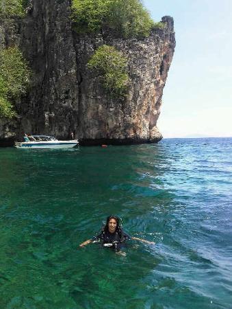 Diving in Koh Bida Nok - Picture of Krabi Town, Krabi Province - TripAdvisor