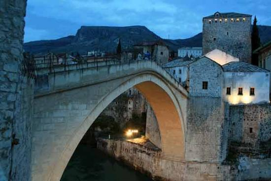 Old Bridge Area of the Old City of Mostar: The Brigde of Mostar - BOSNIA & HERZEGOVINA