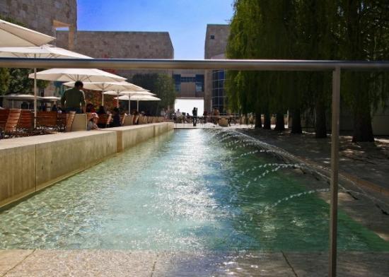 เดอะ เกตตี เซนเตอร์: Getty Center fountain.
