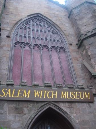 The Salem witch museum. We just caught the last show.