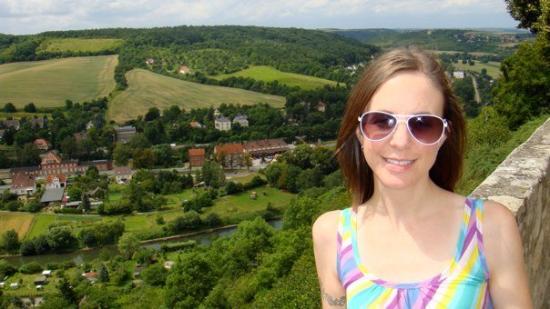 Overlooking Freyburg