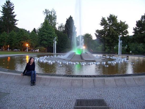 U zpivajici fontany, Marianske Lazne