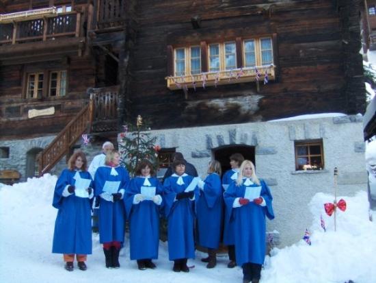 les féeries de Noël de Grimentz