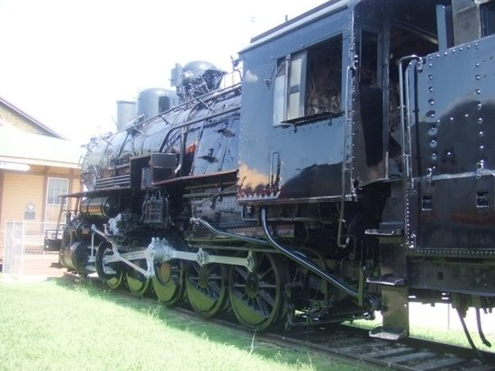 Frisco, TX: Real train at the Museum of American Railroads. 8/5