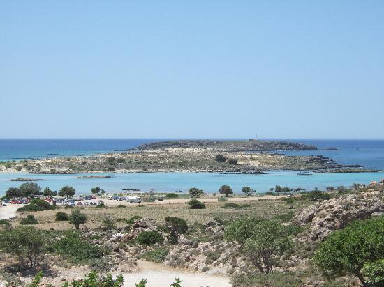 Elafonissi  Beach: plage d Elafonissi