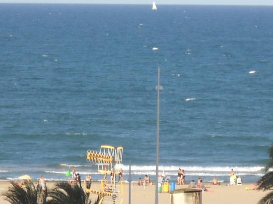 Hotel Safari: Mediterranean sea view from room 402
