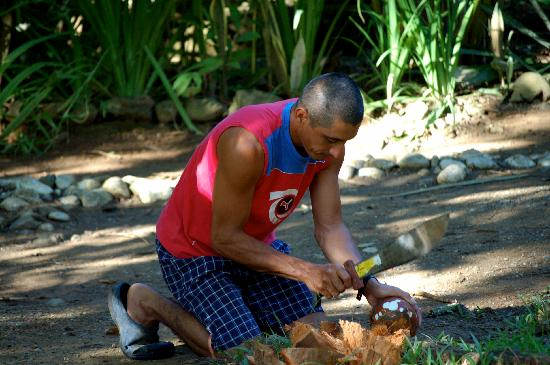 Casa Bambu Resort: William, our friend and Casa Bambu caretaker