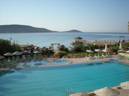 Suzer Sun Dreams Hotel & Spa: foto piscina vista mare