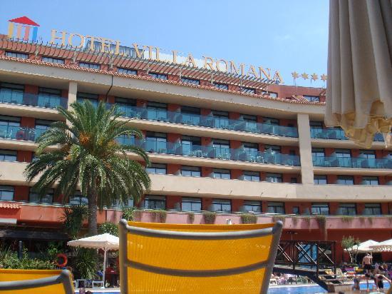 Ohtels Vil.la Romana: The rear of the Hotel