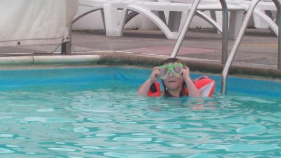 Burnham-On-Sea, UK: swimming pool