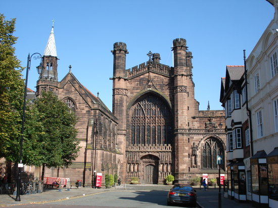 Chester, UK: Front iew