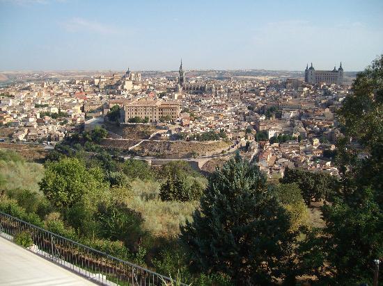 Parador de Toledo: view from parador balcony