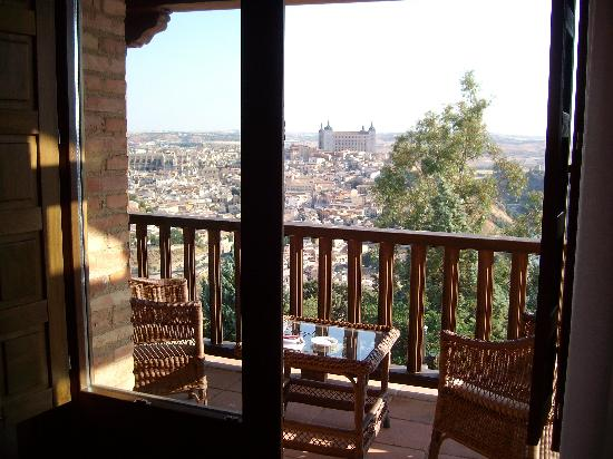 Parador de Toledo: view from room