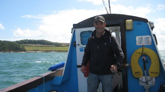 St. Mawes, UK: James - the skipper
