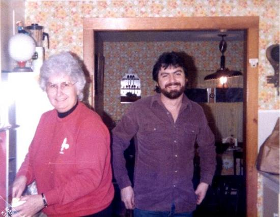 Bristol, Vermont: Visiting Franks Aunt Lucille Bristol, VT 1986