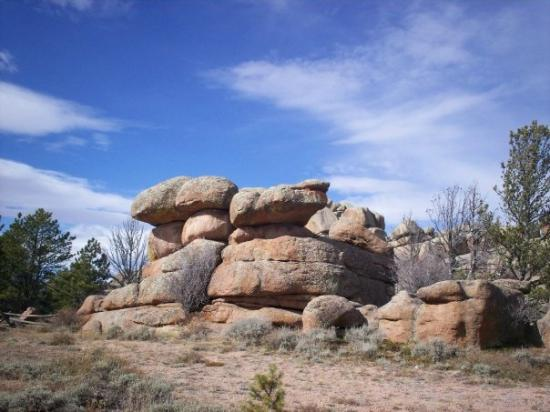 Vedauwoo: Balancing rocks