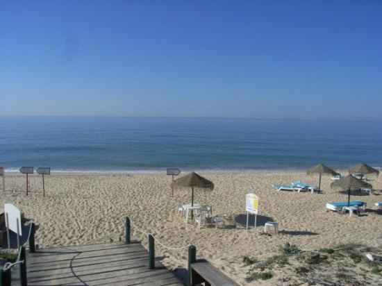 Almancil, Portugal: the beach next to the hotel!