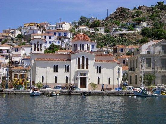 Poros, اليونان: Leaving Poros