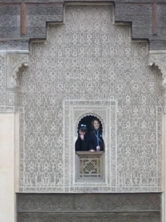 Dar Si Said Museum: l'université de Marrakech (vue d'une des chambres !)
