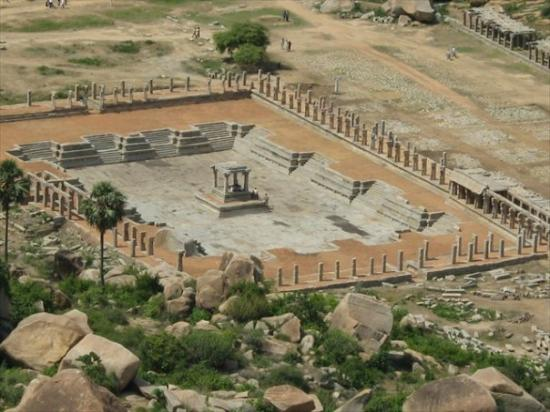 A Temple At Hampi Picture Of Hampi Bellary District