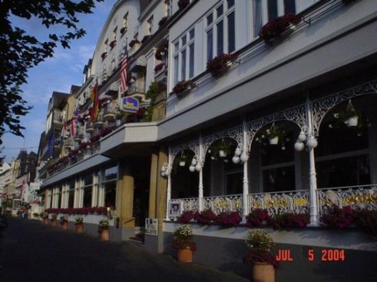 Hotel Bellevue: A Bavarian Hotel & Restaurant in Dusseldorf, Germany, our disembarkation port on the Rhine River