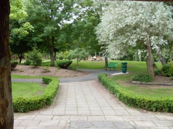Celtic Park and Gardens : A little park in the city Adare, Ireland where we stayed