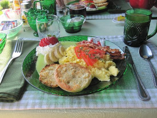 Rockmere Lodge: Breakfast at Rockmere