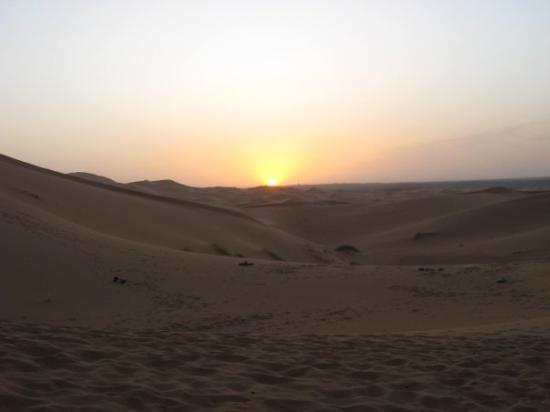 Merzouga Desert: Tramonto a Merzouga