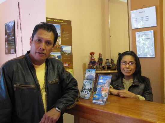 Totorani Inn : Miriam and Alberto, the innkeepers