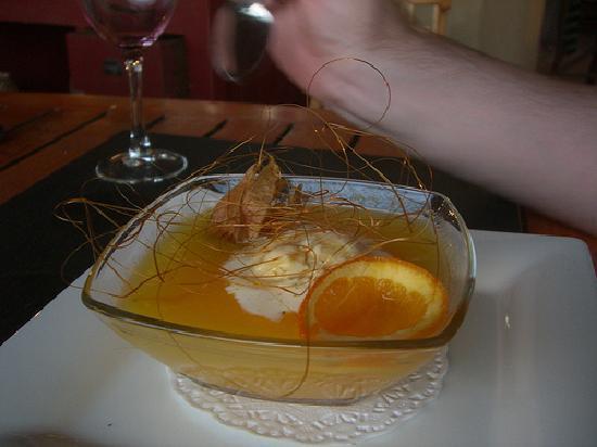 Restaurant Le Tinel : dessert