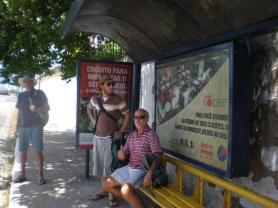 Fortaleza, CE: The Boys at the Bus Stop