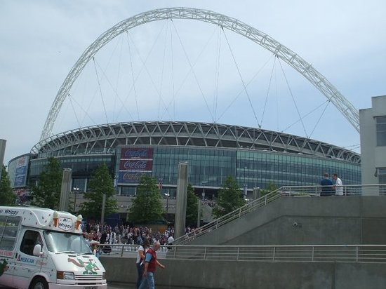 Уэмбли, UK: Wembley!!