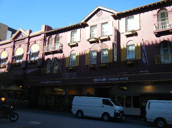 โรงแรมมิสมาอุดสวีดิช: Hotel