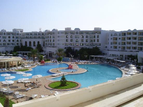 El Mouradi Hammamet: viste delle camere