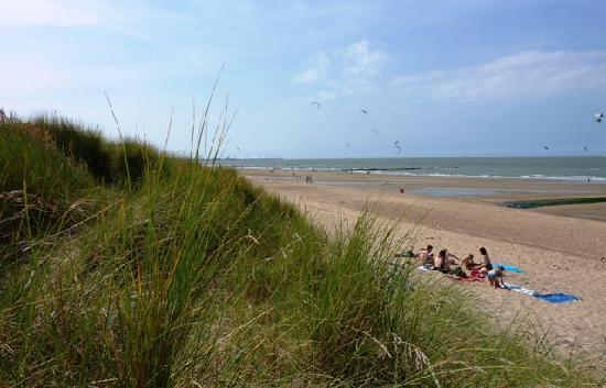 Hotel Pavillon du Zoute : Les dunes