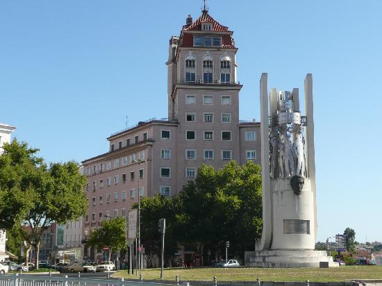 Hotel Afrin Lisboa: Der Aaerio-Platz in der Nähe des Hotels