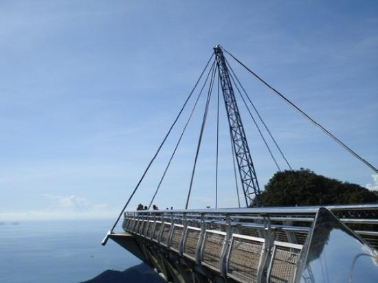 Langkawi, Malaysia: view from the top of the hill - bridge
