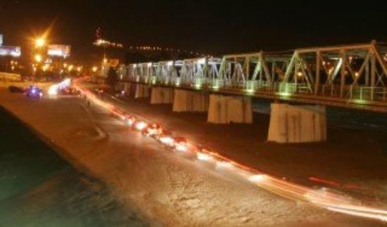 Torreon, México: Puente Rio Nazas, Torreón-Gomez