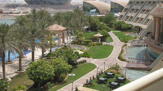 Al Raha Beach Hotel: View from my balcony