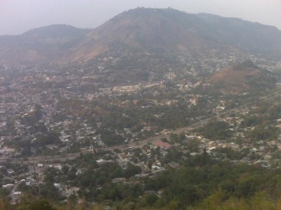 El Sunzal, เอลซัลวาดอร์: A view of San Salvador